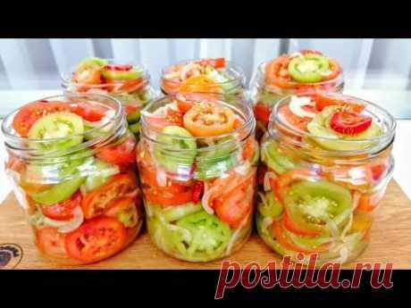 ЗЕЛЕНЫЕ ПОМИДОРЫ вкуснее спелых! Как вкусно и просто приготовить зеленые помидоры НА ЗИМУ!