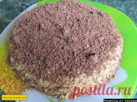 Крепвиль со сгущенным молоком, грецкими орехами и шоколадом рецепт с фото пошагово - 1000.menu