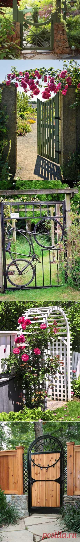 15 идей оформления садовой калитки | Наш уютный дом