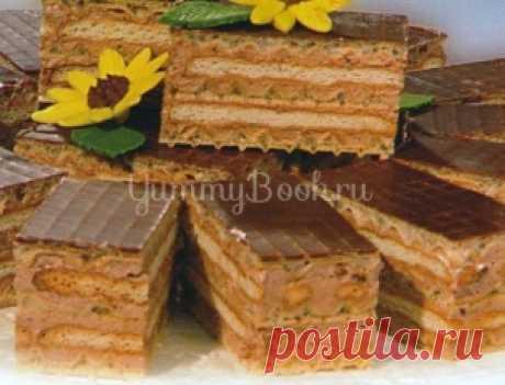 La torta de las galletas y los barquillos