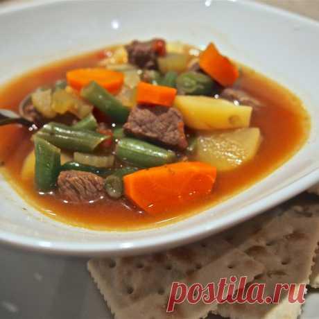 Суп из говядины - готовим сытный наваристый суп