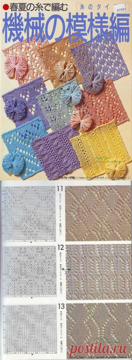 The book on knitting samples 1987 (узоры спицами).
