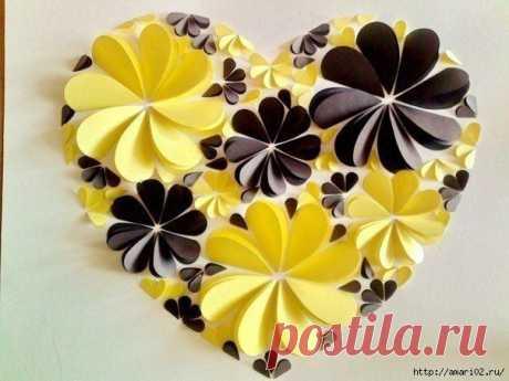 Красивая идея подарка ко Дню влюблённых..