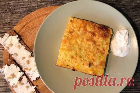 Овощная запеканка из кабачков и моркови рецепт – русская кухня: основные блюда. «Еда»
