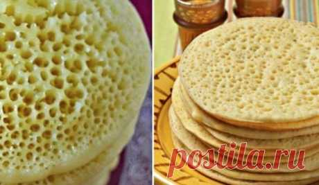 "Moroccan pancakes \""Thin Setochka\"""