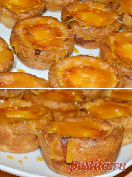 El cumplido del JEFE: las cestitas Hojaldradas con maskarpone y el caramelo de naranja