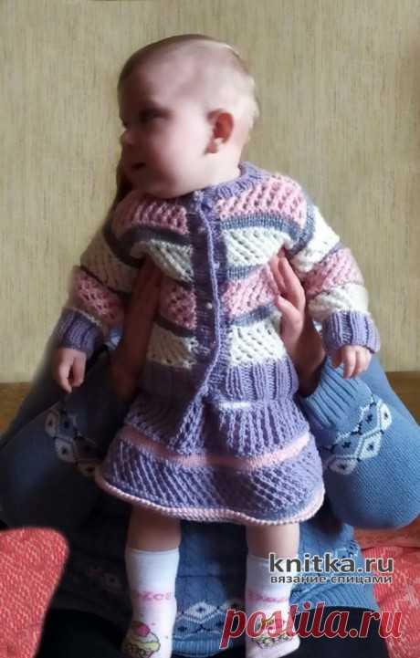 Кофточка и юбочка для девочки на 1-2 года. Работа Ирины Промашковой, Вязание для детей