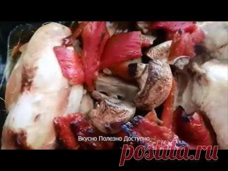 Курица в Соевом Соусе, запеченная  в духовке. Быстрый рецепт приготовления вкусной куриной грудки