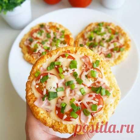 Мини пиццы без вреда для фигуры