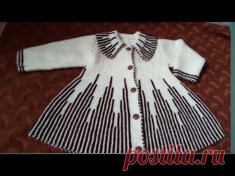 Collar Wali Baby Frock for 1 to 2 years girl part 1