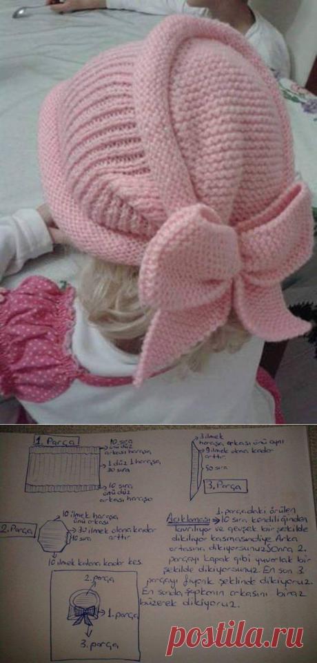 Шляпа Бант (Изображение Anlatımlı)