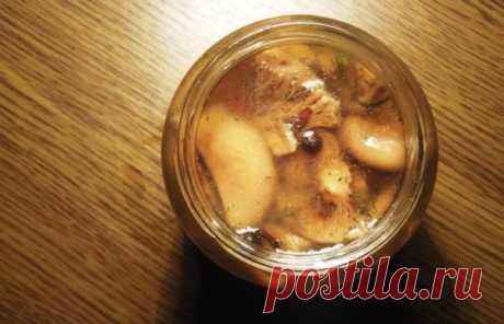 Маринованные рыжики самый вкусный рецепт на зиму