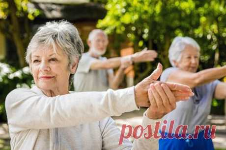Гимнастика для пожилых людей. Вопросы, ответы, упражнения