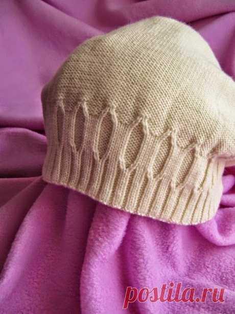 Модели вязания: Как связать такую шапочку