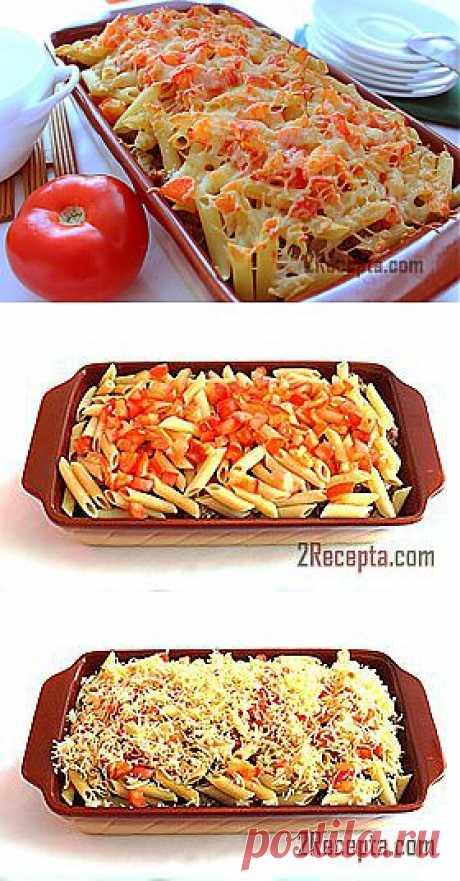 Рецепт: Запеканка из макарон с фаршем и сыром - пошаговый фото рецепт приготовления