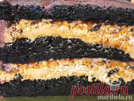 Рецепт торта/бисквита Тёмный Ларри в домашних условиях пошагово с фотографиями