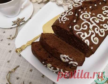 """Шоколадно-кофейный кекс """"Зимний"""" – кулинарный рецепт"""