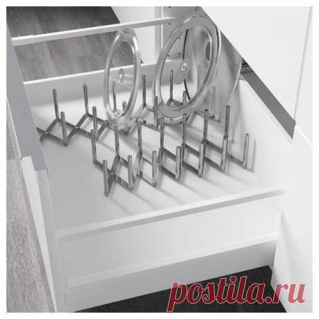Ох уж эти крышки! Или 8 отличных идей для хранения крышек от кастрюль и сковородок.   Kotanka о порядке   Яндекс Дзен