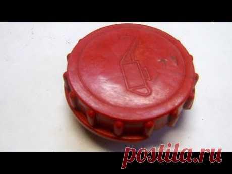 Как сделать пластиковую крышку