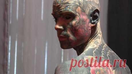 Самый татуированный человек Франции — школьный учитель   Euronews