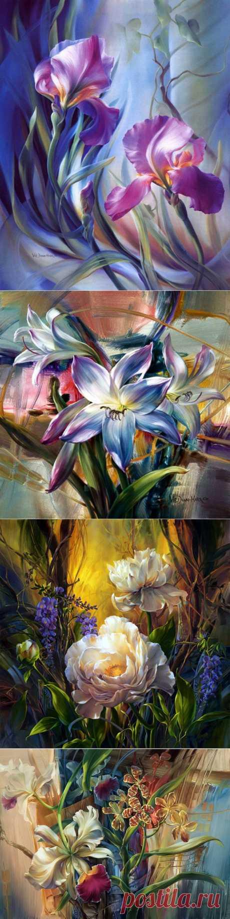 Американская художница Vie Dunn-Harr