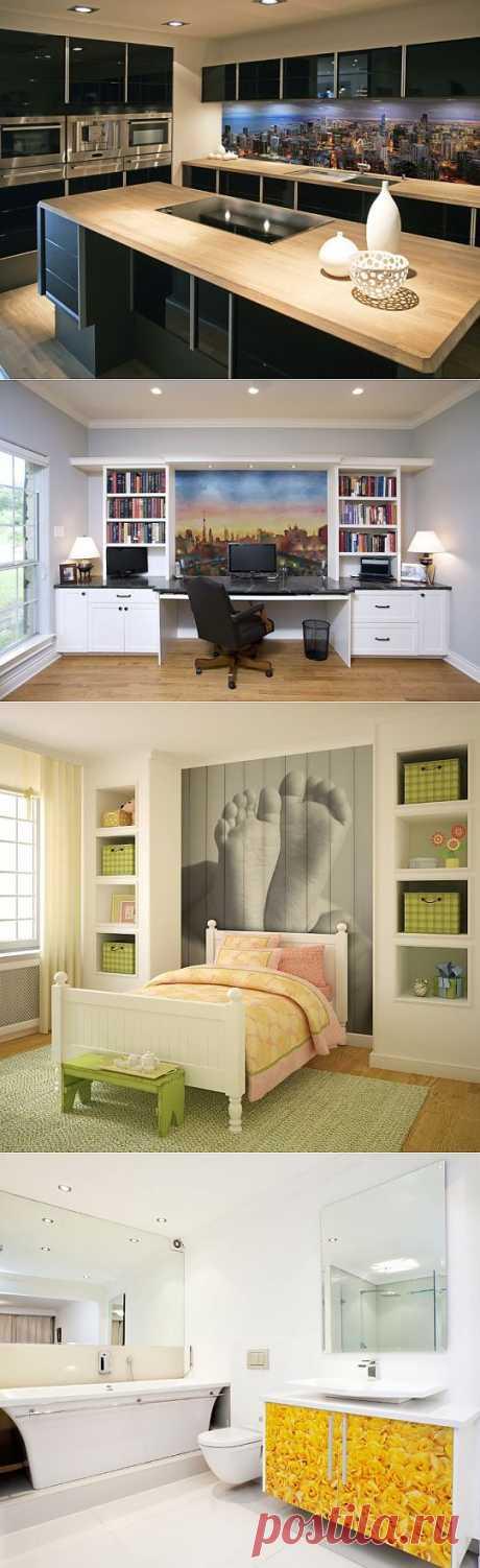 Виниловые наклейки на мебели: яркий дизайн и обновление мебели | Дом-Цветник