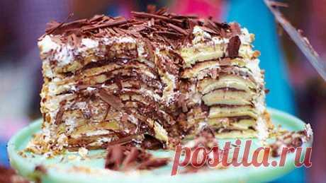 Блинный торт | Рецепты Джейми Оливера
