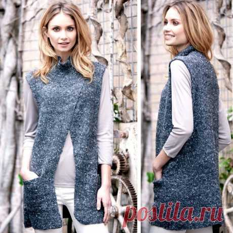 Vest tunic with pockets