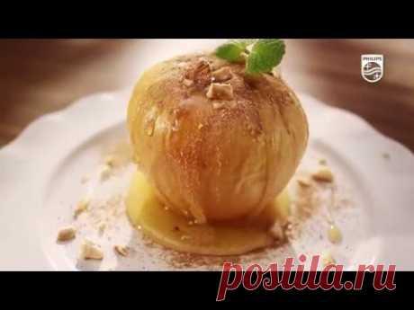 """Рецепт """"Печені яблука з горіхами"""""""