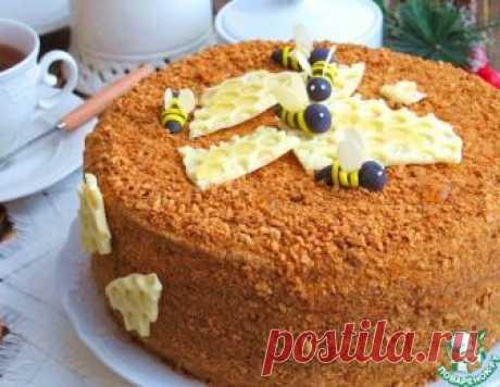 """Домашний торт """"Медовый"""" – кулинарный рецепт"""