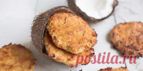 Рецепт мягкого кокосового печенья с творогом - Лайфхакер