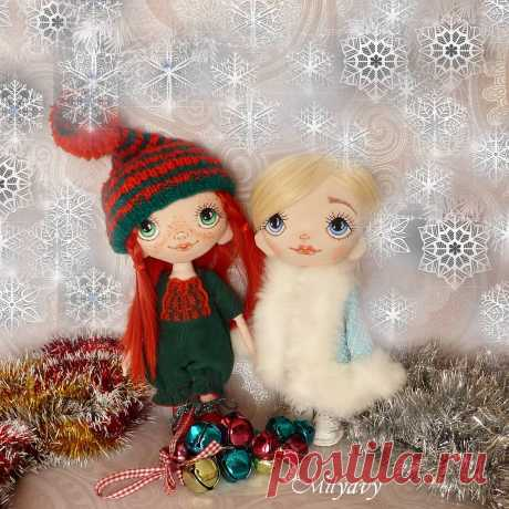 АВТОРСКИЕ КУКЛЫ И ТЕДДИ 👸🐘 в Instagram: «А я до сих пор верю в чудеса. И каждое 1 января заглядываю под ёлку с надеждой на волшебный подарок от Деда Мороза. И , хотя , все…»