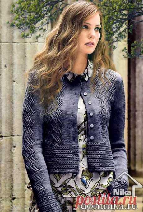 Модная модель жакета спицами 2019 I вязание для женщин жакета кардигана