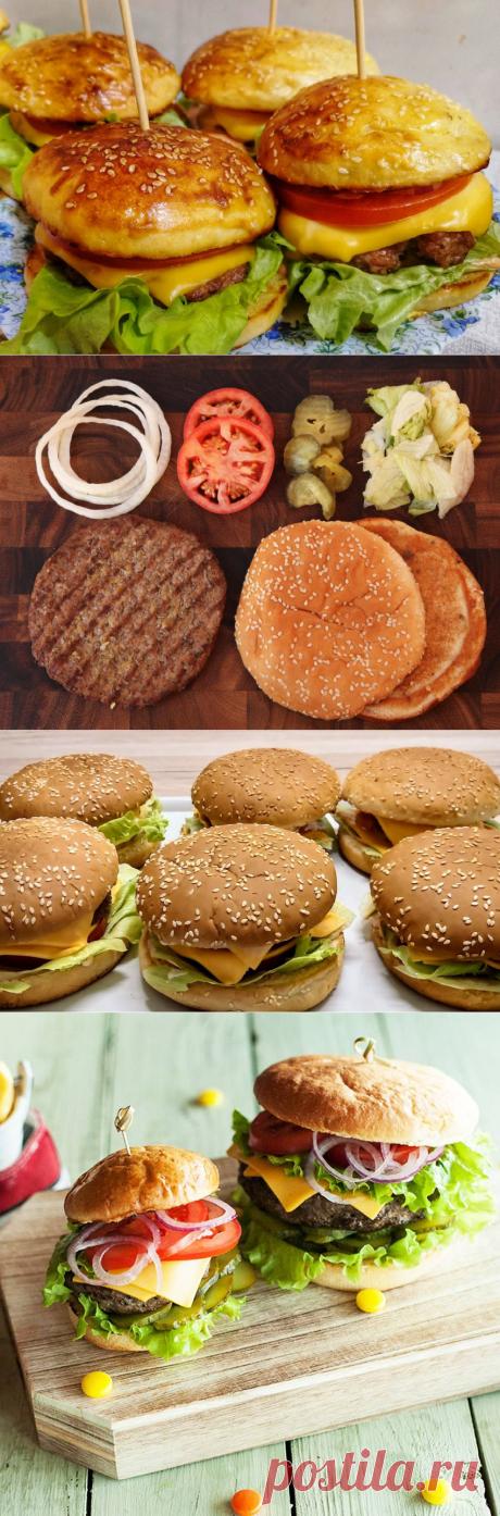 Полезный фастфуд: готовим домашний бургер