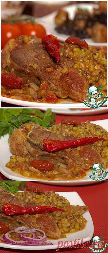 Маш с бараниной по-срединоземноморски - кулинарный рецепт