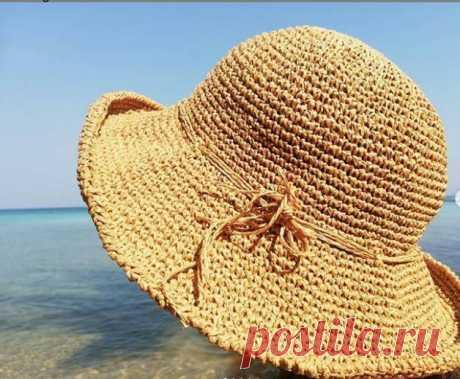 Секреты рукоделия… Шляпы панамки из рафии крючком — идеи для вязания и вдохновения   Развлечения   Селдон Новости