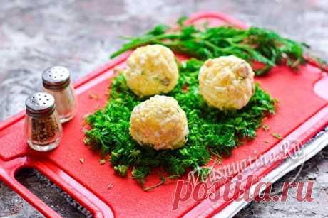 Закуска «Изумрудная» – вкусные шарики из сельди