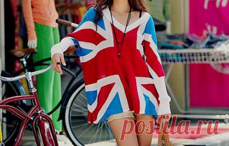 Если у вас где-то завалялся флаг... / Футболки DIY / Модный сайт о стильной переделке одежды и интерьера
