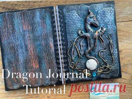 Polymer Clay Dragon Journal Tutorial