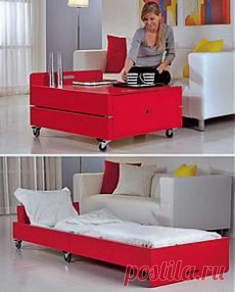 Два в одном: столик и кровать для гостей. МК .