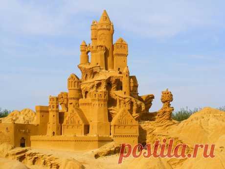 Las esculturas de la arena