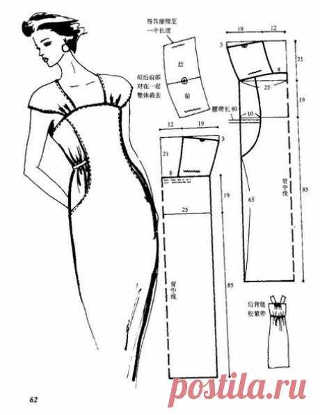 Шъём платья, сарафаны