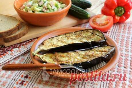 Баклажаны с чесноком в духовке — рецепт с фото пошагово