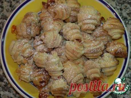 "Домашнее печенье ""Завитушки"" – кулинарный рецепт"
