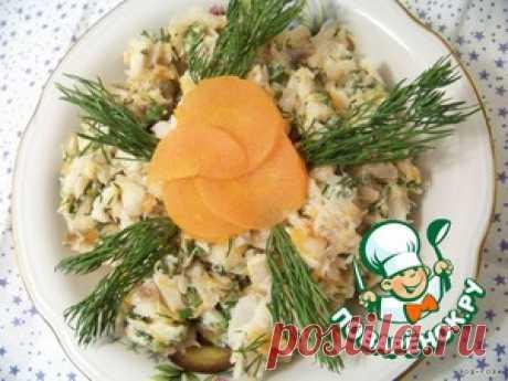 """Салат """"Раковые шейки"""" - кулинарный рецепт"""