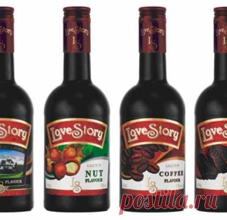 Спиртные напитки. Love Story