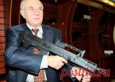 El arma bespatronnoe era patentada por el inventor ruso