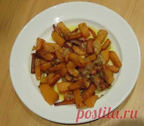 Wonderful pumpkin fried with onions and carrots the recipe with a photo step by step - 1000.menu