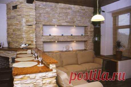 Особенности отделки стен декоративным камнем | Роскошь и уют