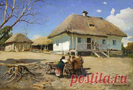 Картини художників-пейзажистів з українськими краєвидами (130+ зображень) – Україна для українців